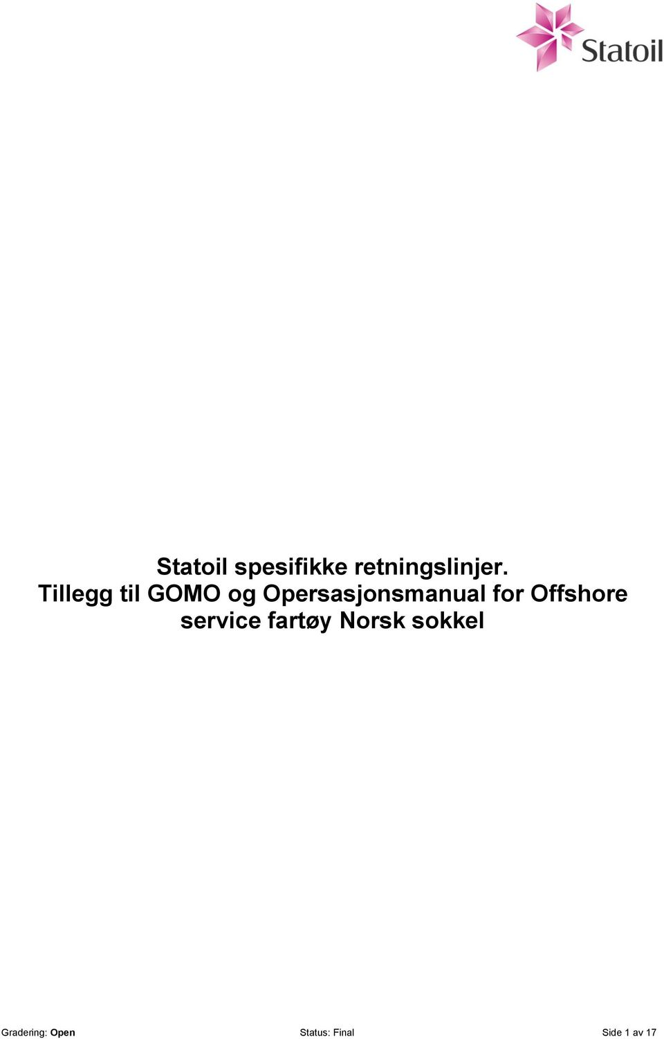 for Offshore service fartøy Norsk