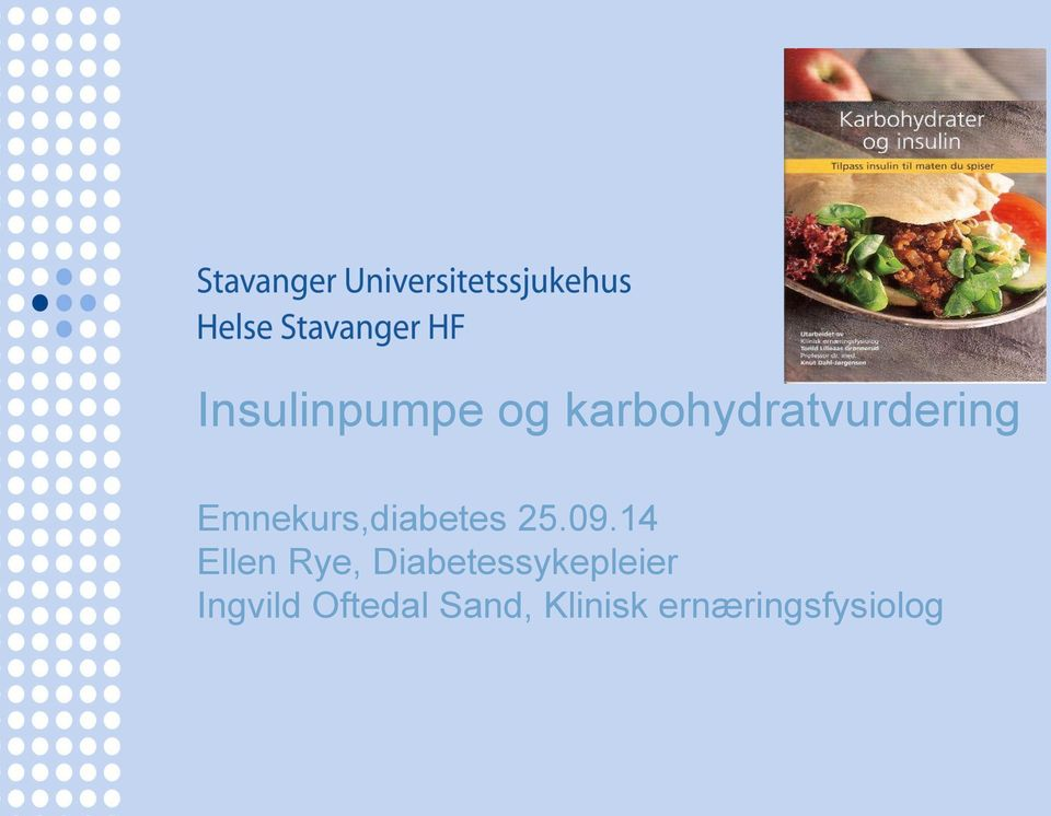 Emnekurs,diabetes 25.09.