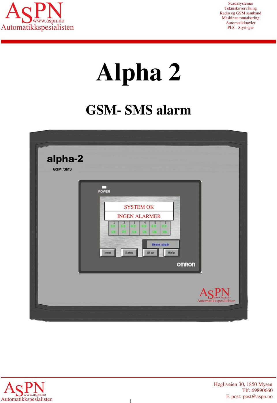 GSM /SMS SYSTEM