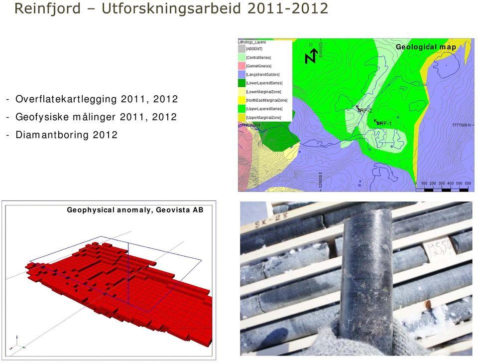 2012 - Diamantboring 2012 Geophysical