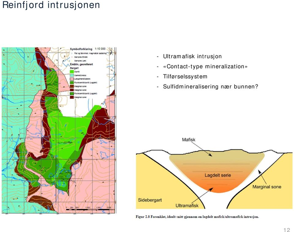 «Contact-type mineralization» -