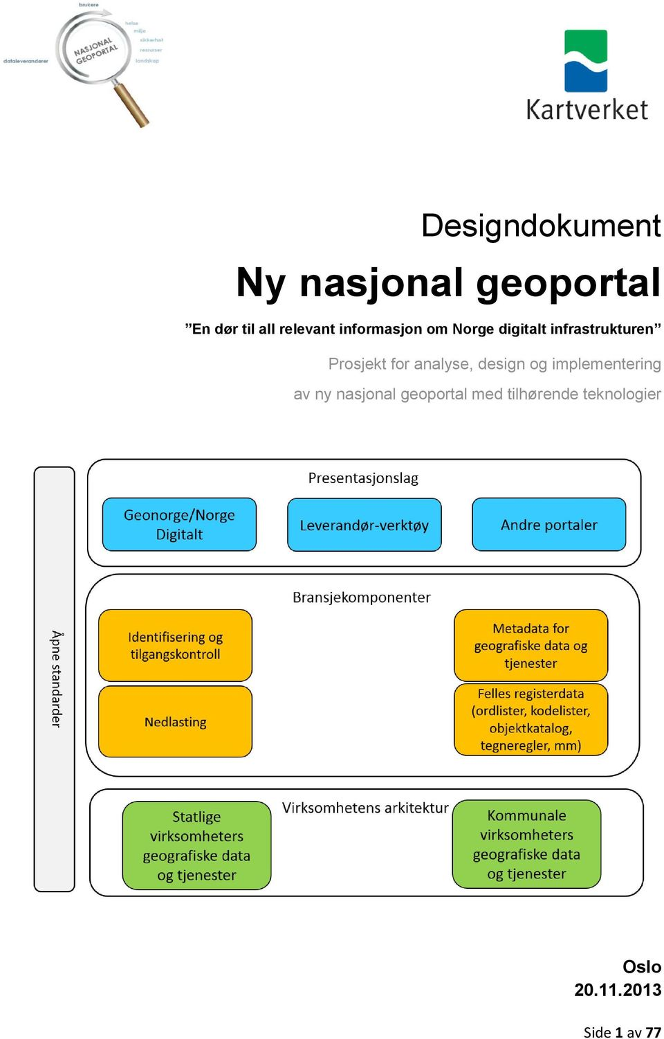 Prosjekt for analyse, design og implementering av ny