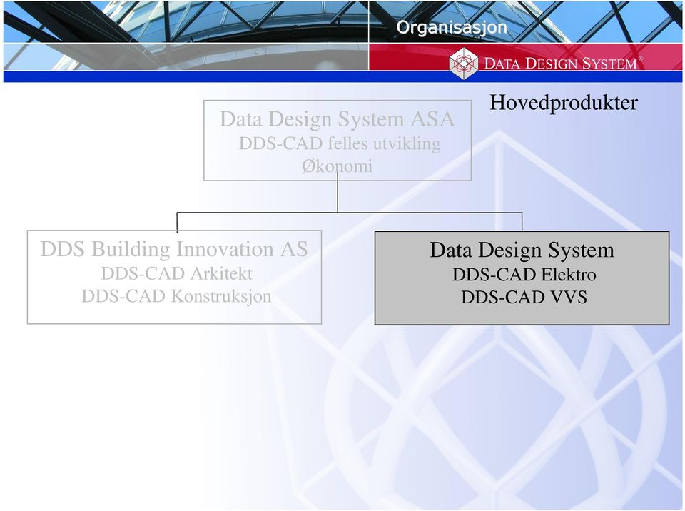 Building Innovation AS DDS-CAD Arkitekt DDS-CAD
