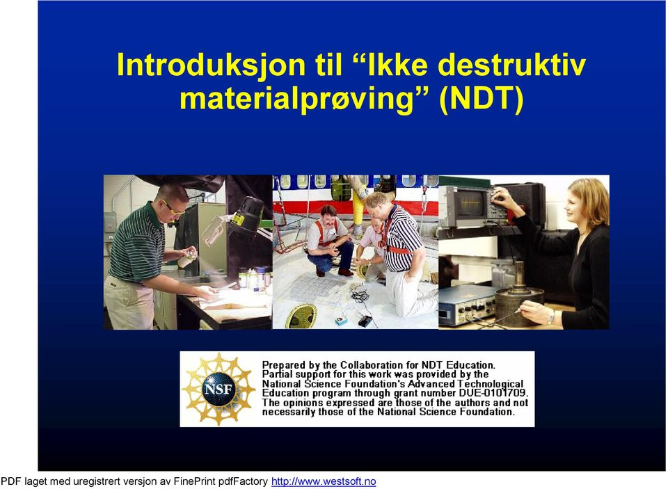 Destruktiv materialprøving