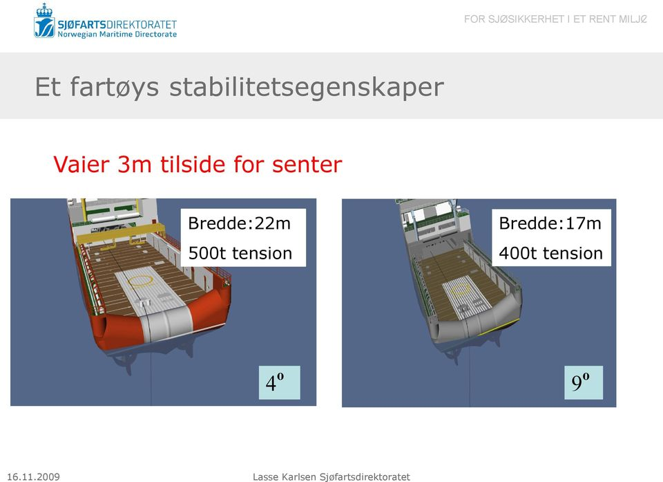 3m tilside for senter