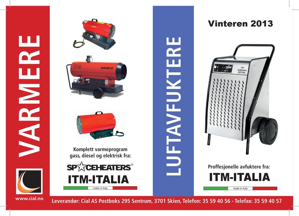 ITM-ITALIA made in Italy made in Italy www.cial.