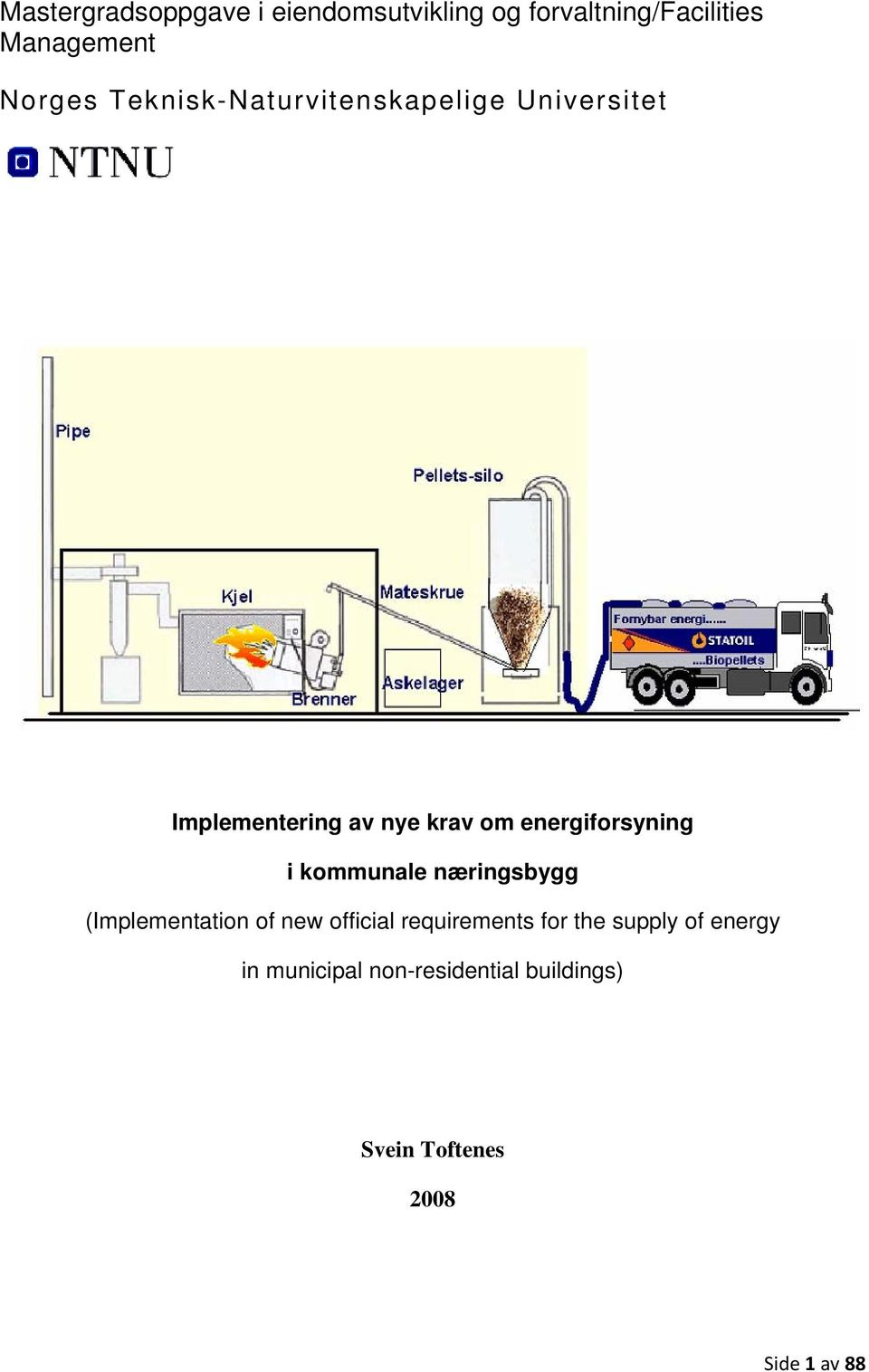 energiforsyning i kommunale næringsbygg (Implementation of new official