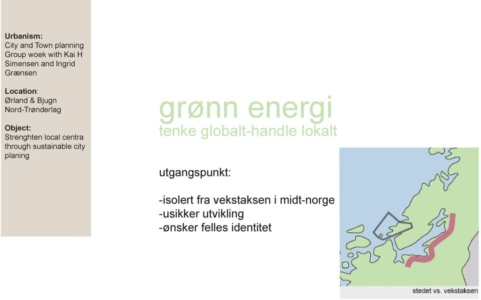 through sustainable city planing grønn energi tenke globalt-handle lokalt