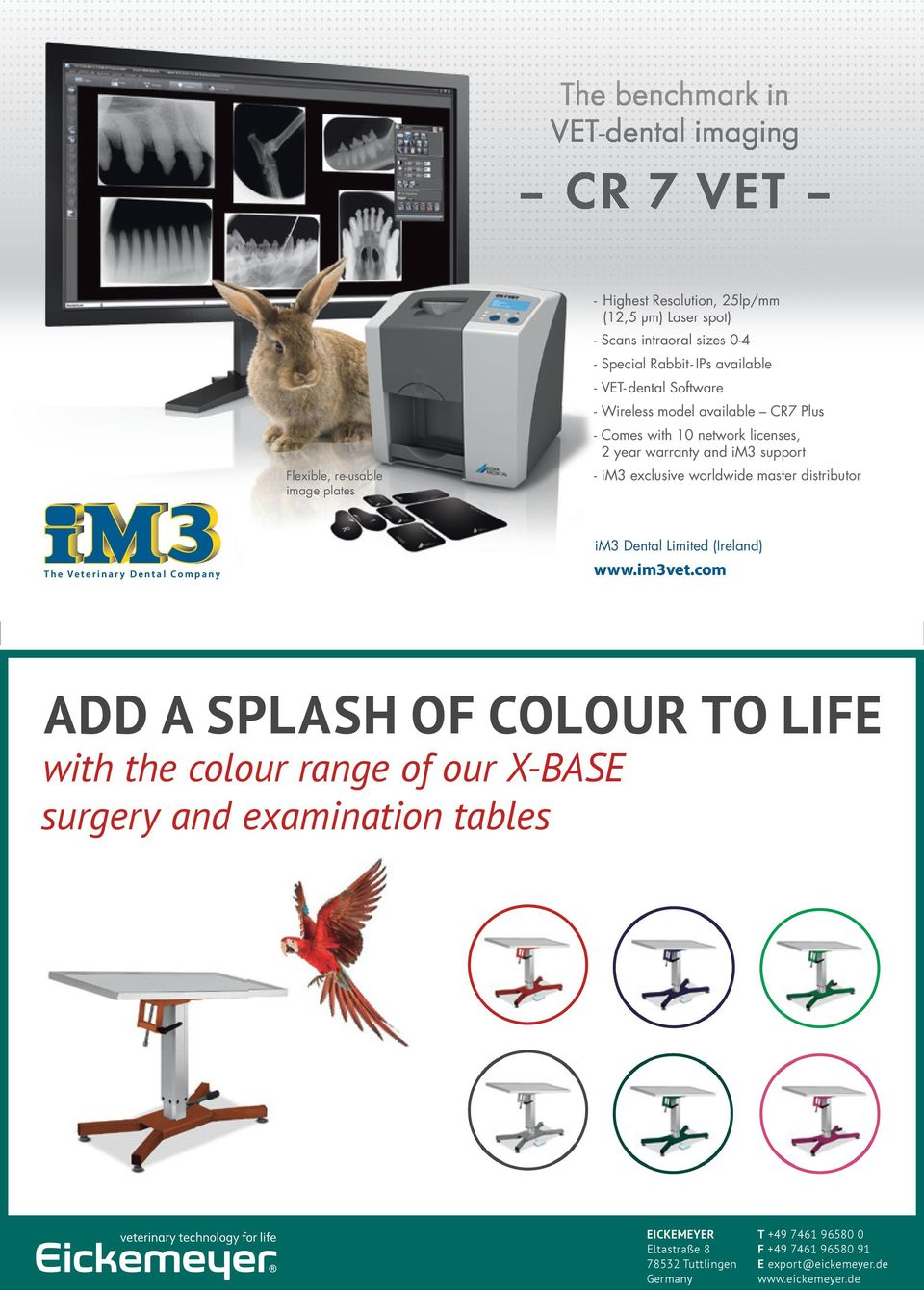 worldwide master distributor The Veterinary Dental Company im3 Dental Limited (Ireland) www.im3vet.