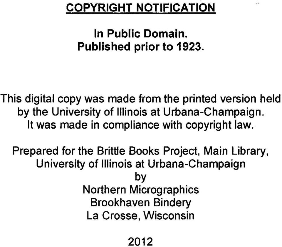 Urbana-Champaign. It was made in compliance with copyright law.