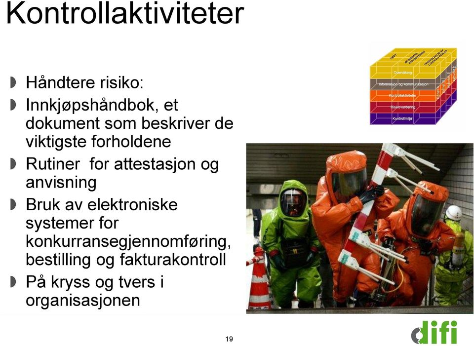anvisning Bruk av elektroniske systemer for