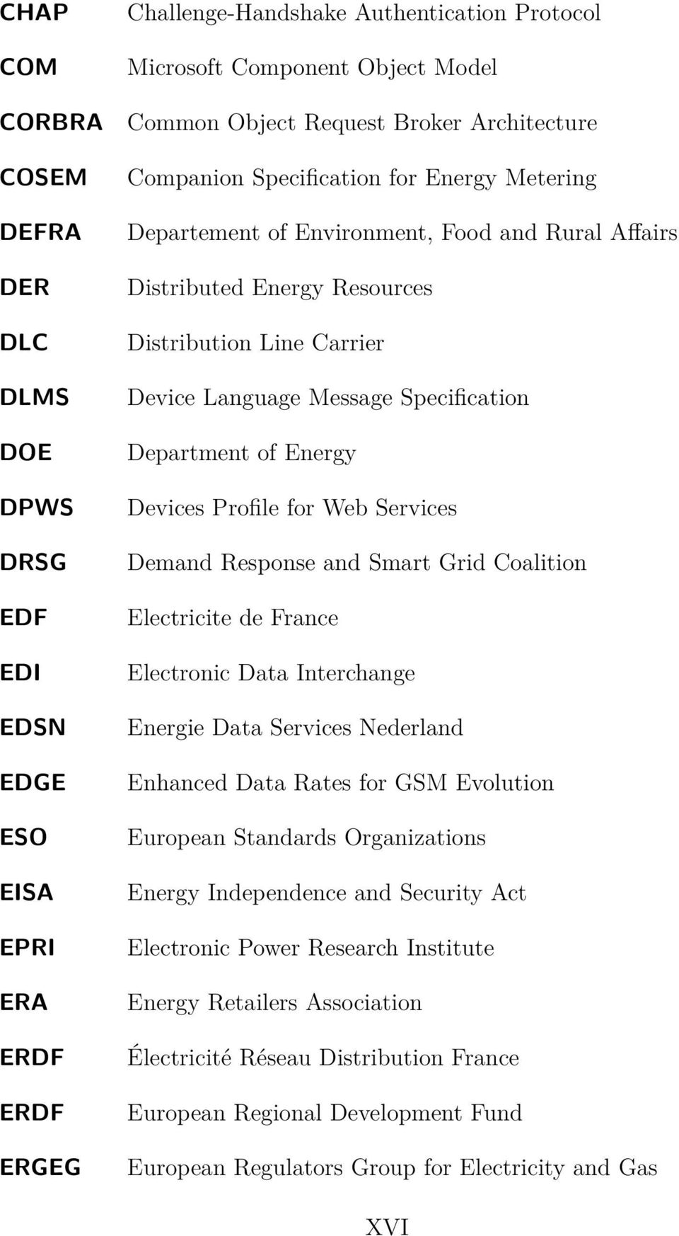 Message Specification Department of Energy Devices Profile for Web Services Demand Response and Smart Grid Coalition Electricite de France Electronic Data Interchange Energie Data Services Nederland