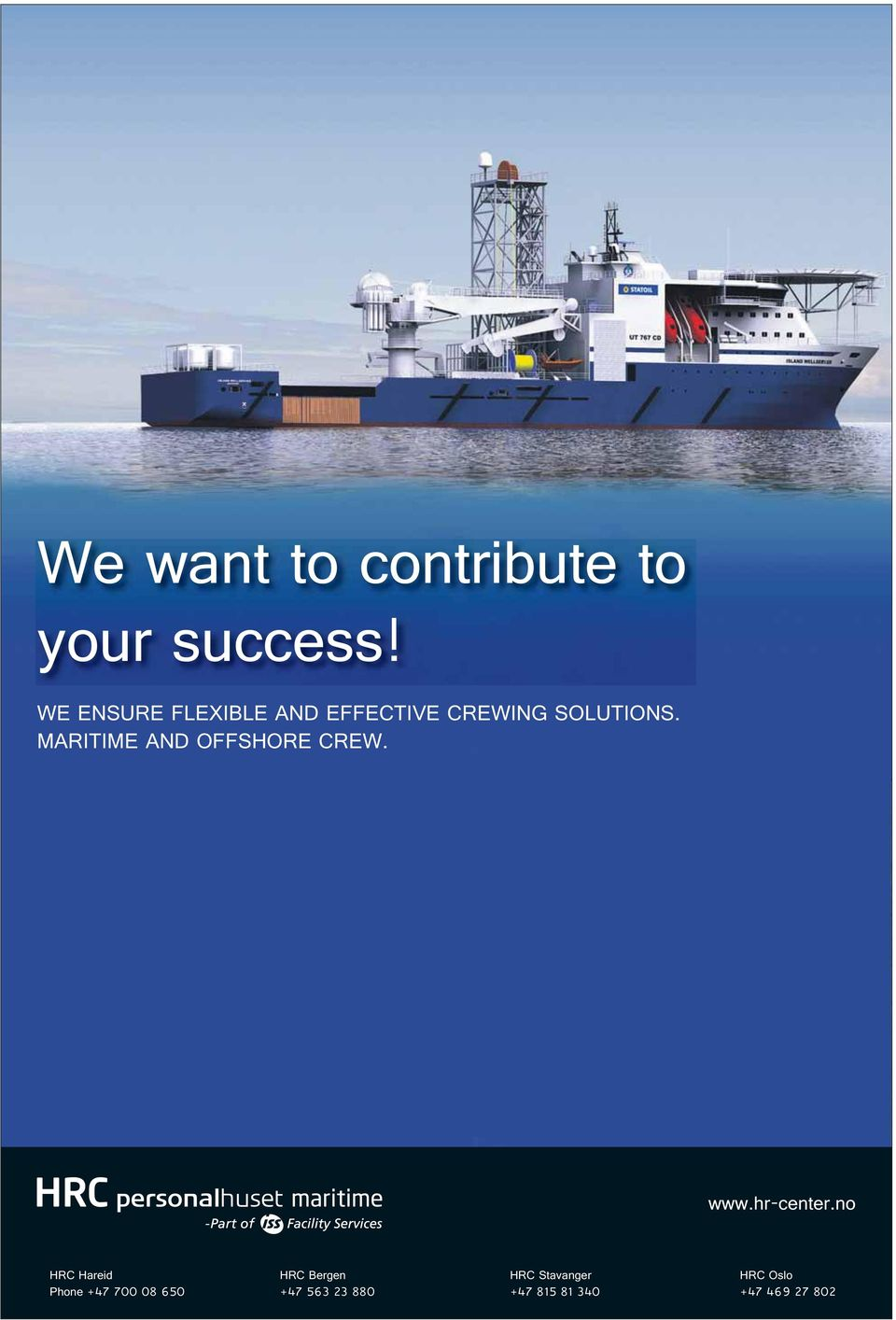 MARITIME AND OFFSHORE CREW. www.hr-center.