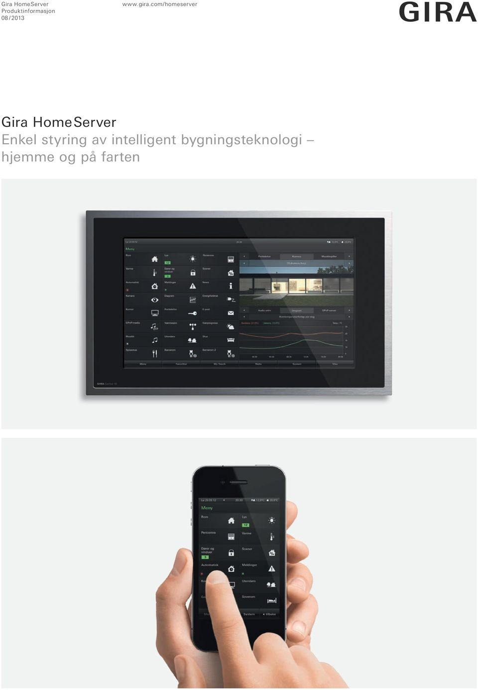com/homeserver Gira Home Server Enkel