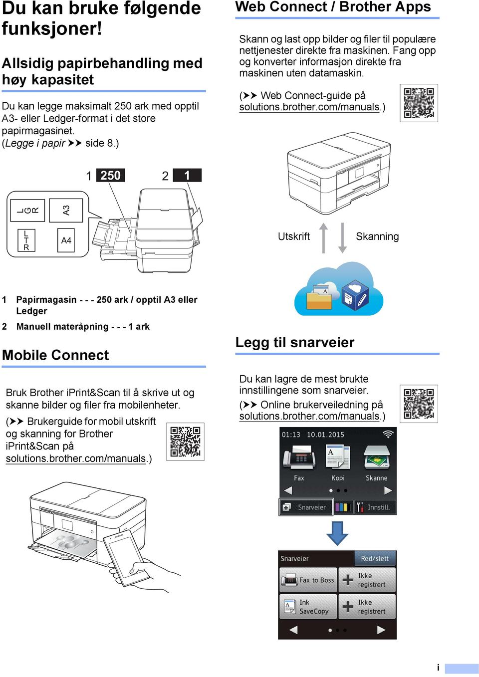(uu Web Connect-guide på solutions.brother.com/manuals.