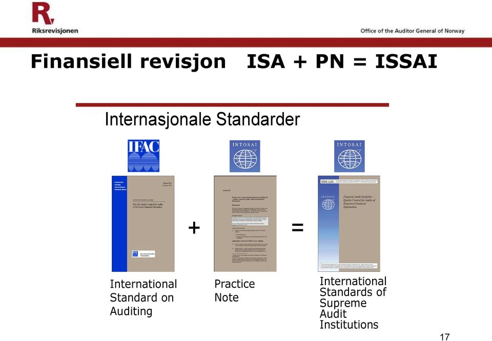 International Standard on Auditing