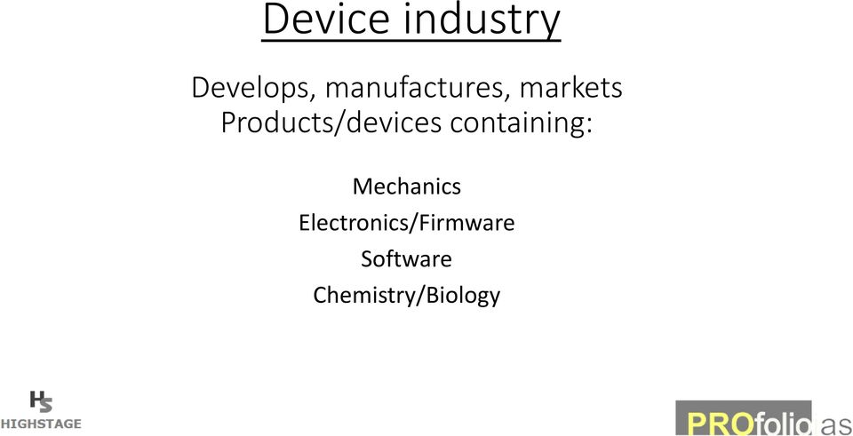 Products/devices containing: