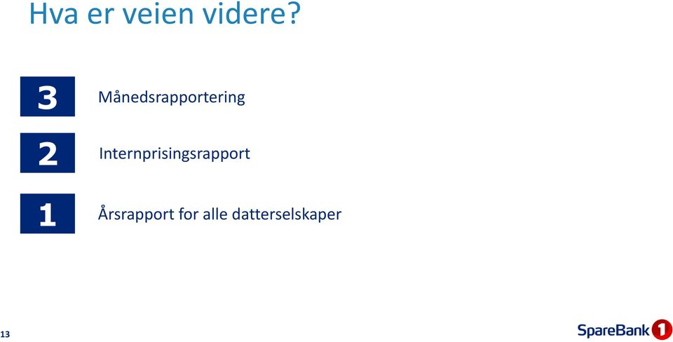 Internprisingsrapport 1