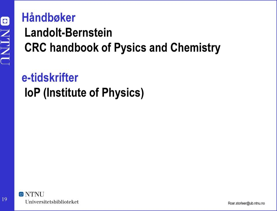 handbook of Pysics and