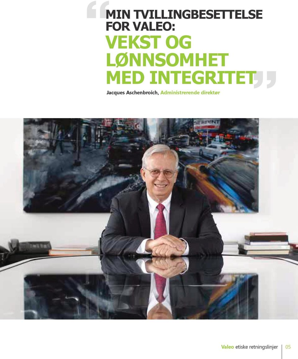 med integritet Jacques