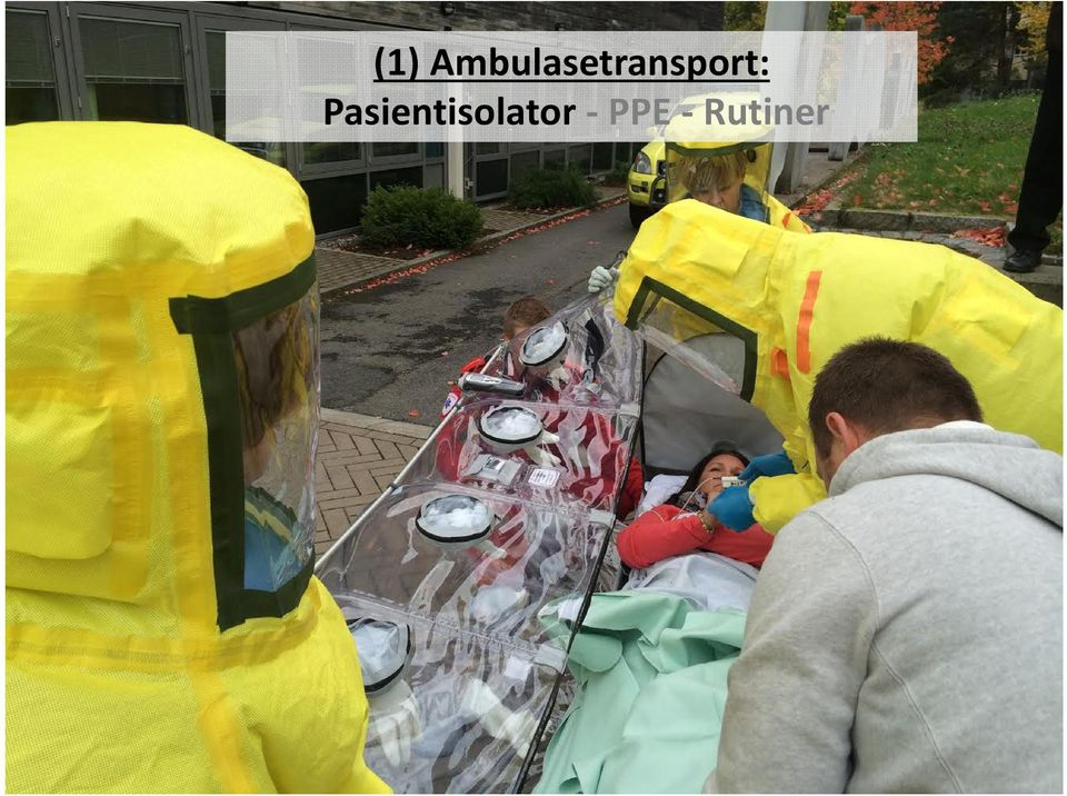 Norwegian National CBRNe Medical and