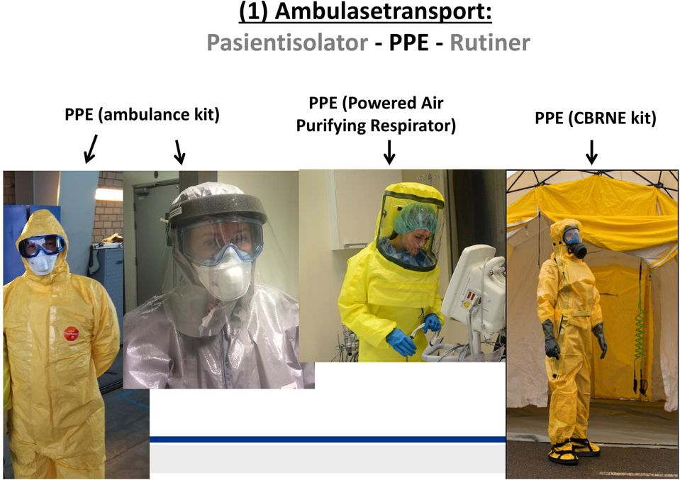 PPE (ambulance kit) PPE