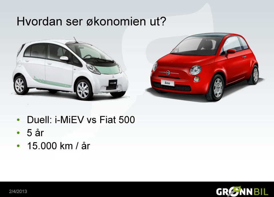 Duell: i-miev vs