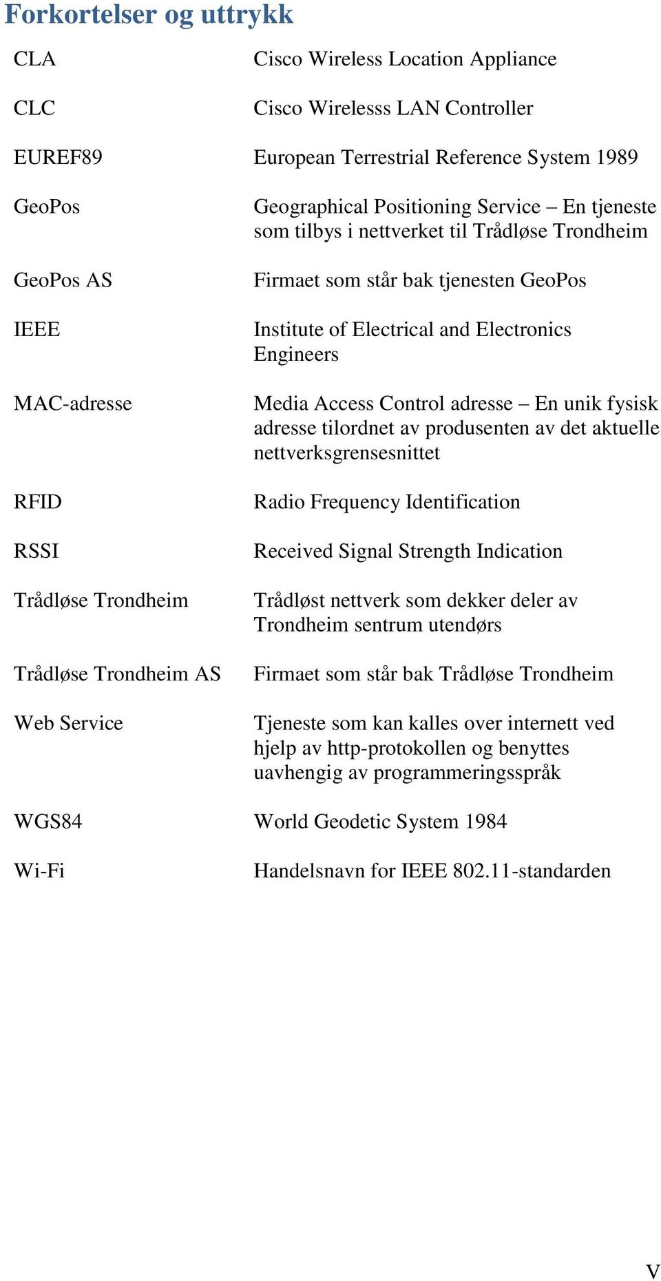 Electrical and Electronics Engineers Media Access Control adresse En unik fysisk adresse tilordnet av produsenten av det aktuelle nettverksgrensesnittet Radio Frequency Identification Received Signal