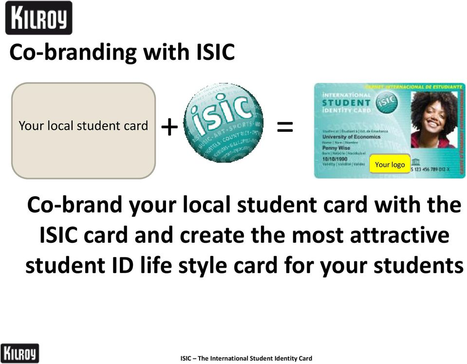 and create the most attractive student ID life style card