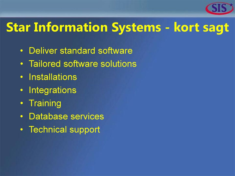software solutions Installations