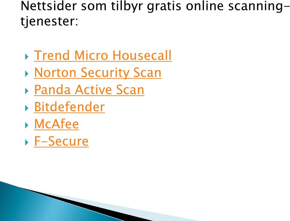 Housecall Norton Security Scan