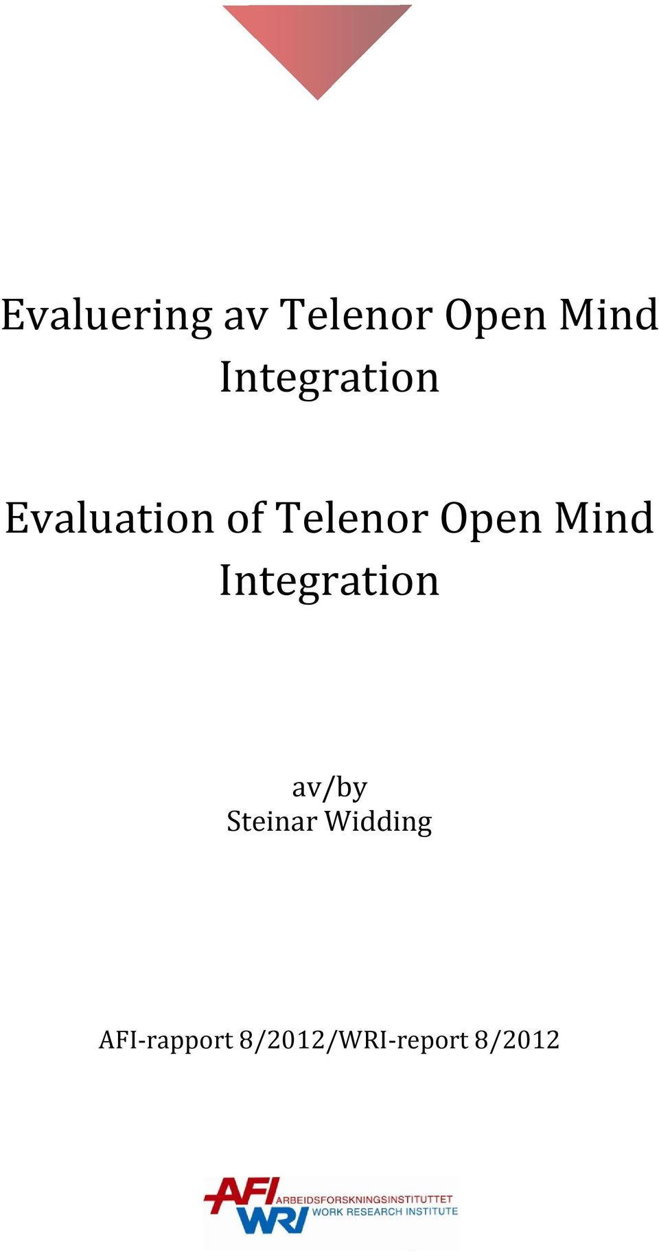 Open Mind Integration av/by Steinar