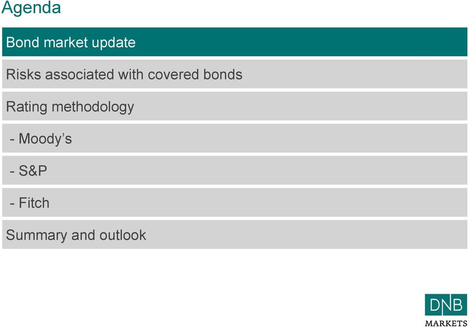 bonds Rating methodology -
