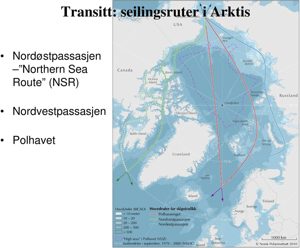 Northern Sea Route (NSR)
