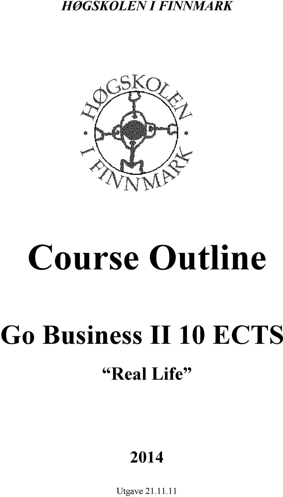 Business II 10 ECTS