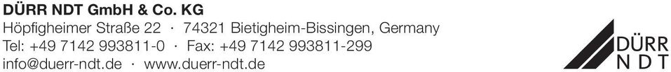 Bietigheim-Bissingen, Germany Tel: +49