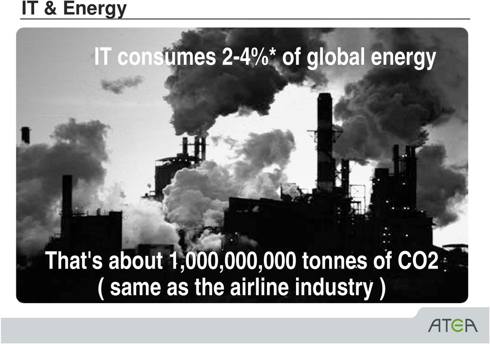 1,000,000,000 tonnes of CO2 (