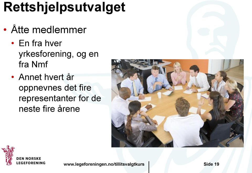 oppnevnes det fire representanter for de neste