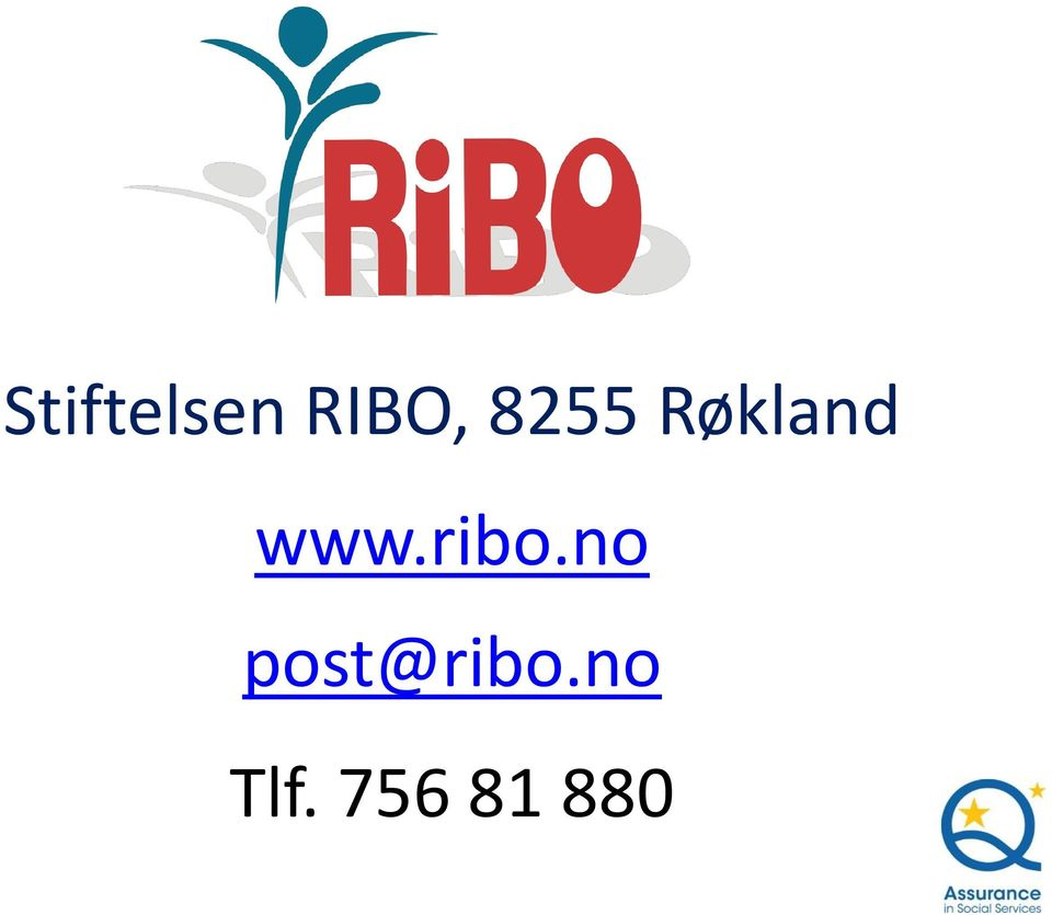 ribo.no post@ribo.