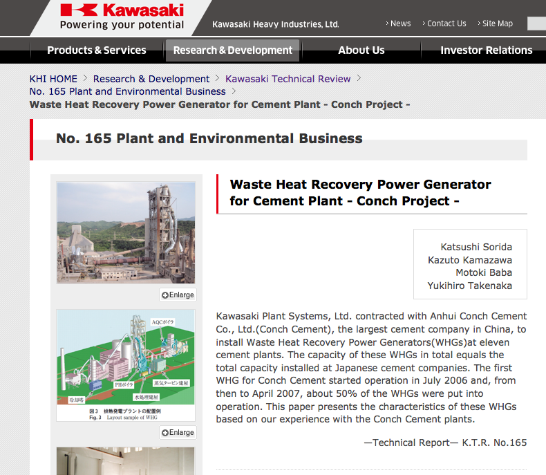 kjøpt kvoter fra i Kina - Waste Heat Recovery for Power Generation In Dry Cement Production.