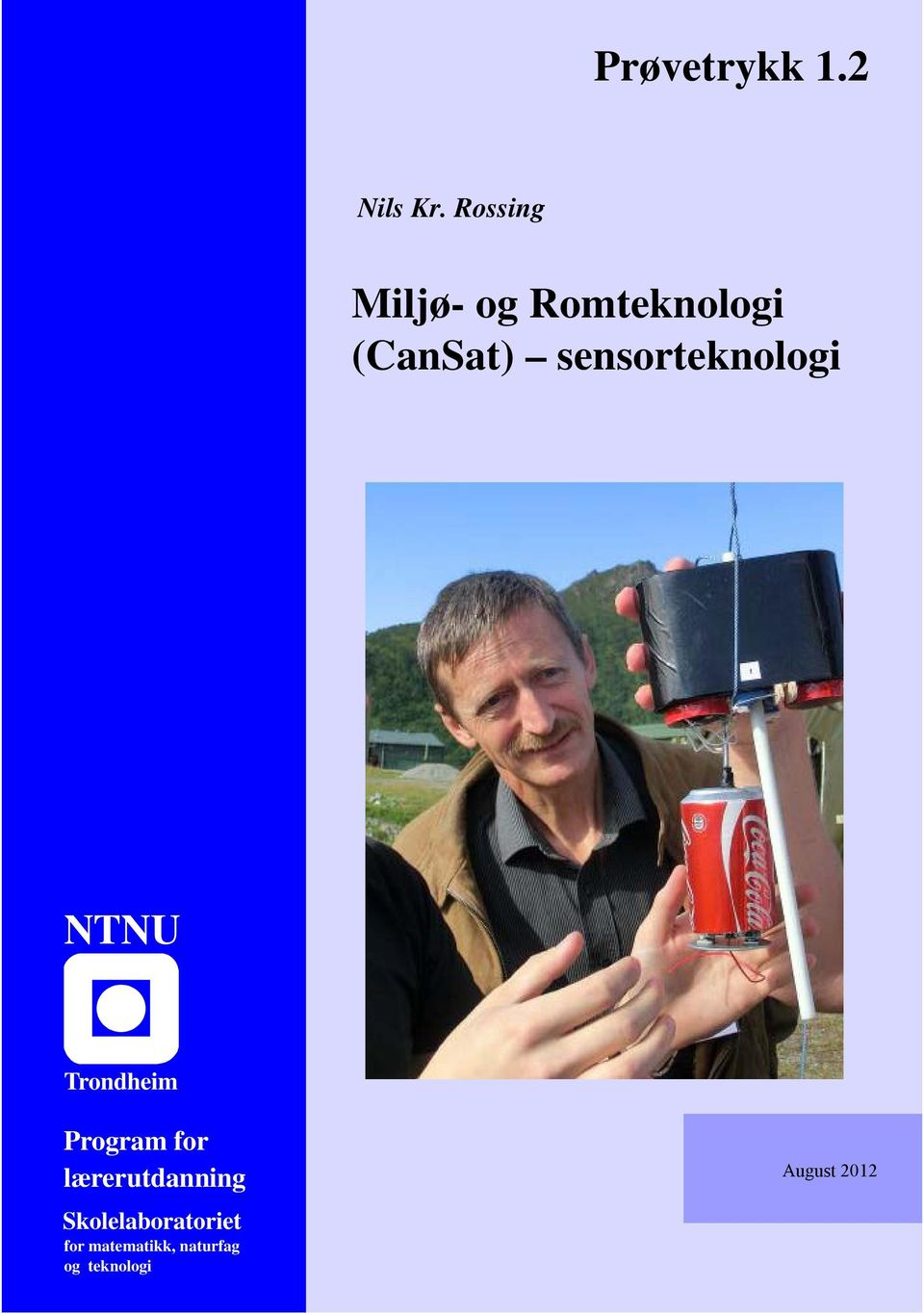 sensorteknologi NTNU Trondheim Program for