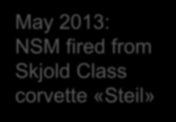 2013: NSM fired from