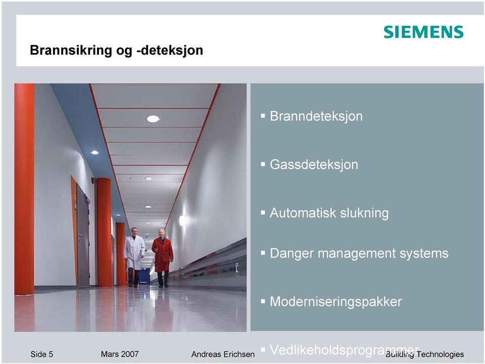 management systems Moderniseringspakker