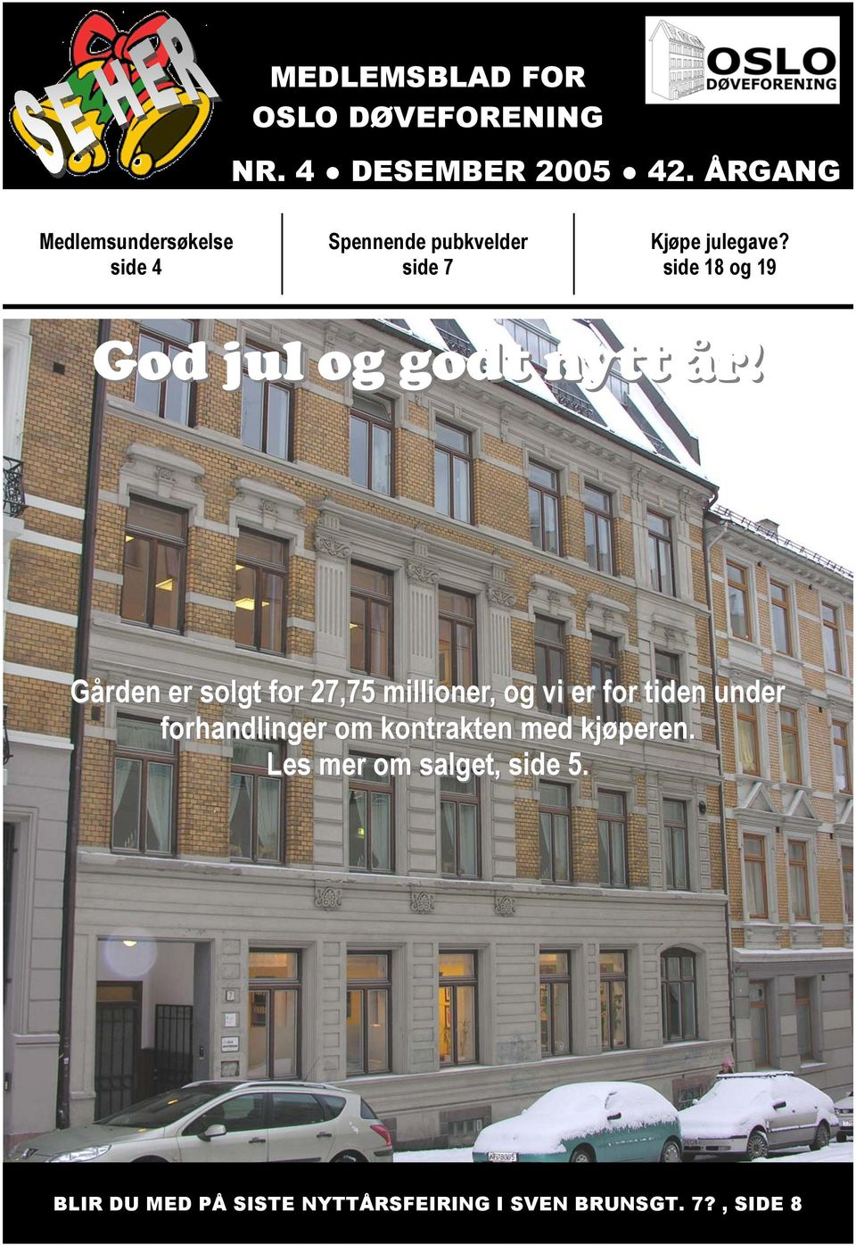 side 18 og 19 God jul og godt nytt år!