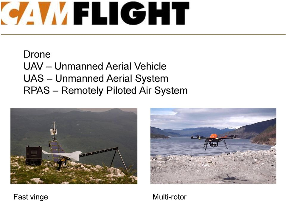 System RPAS Remotely Piloted