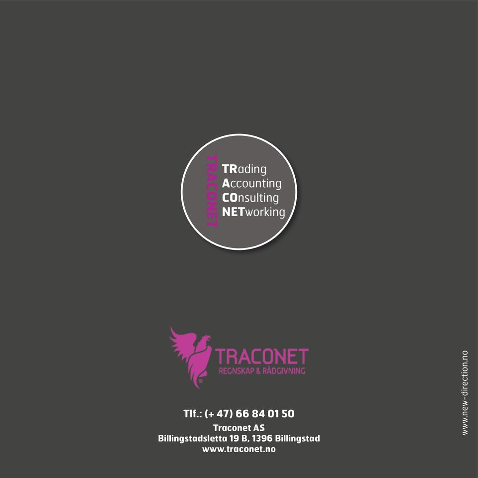 : (+ 47) 66 84 01 50 traconet as