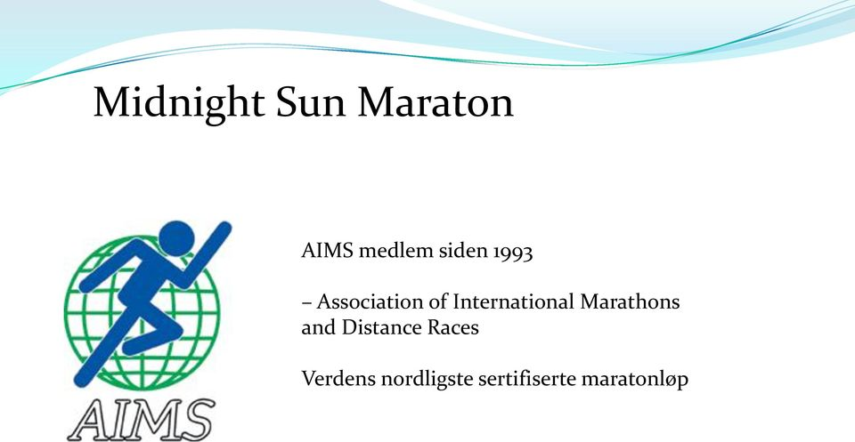 International Marathons and