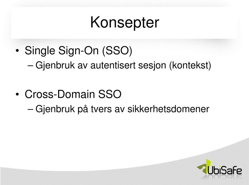 (kontekst) Cross-Domain SSO