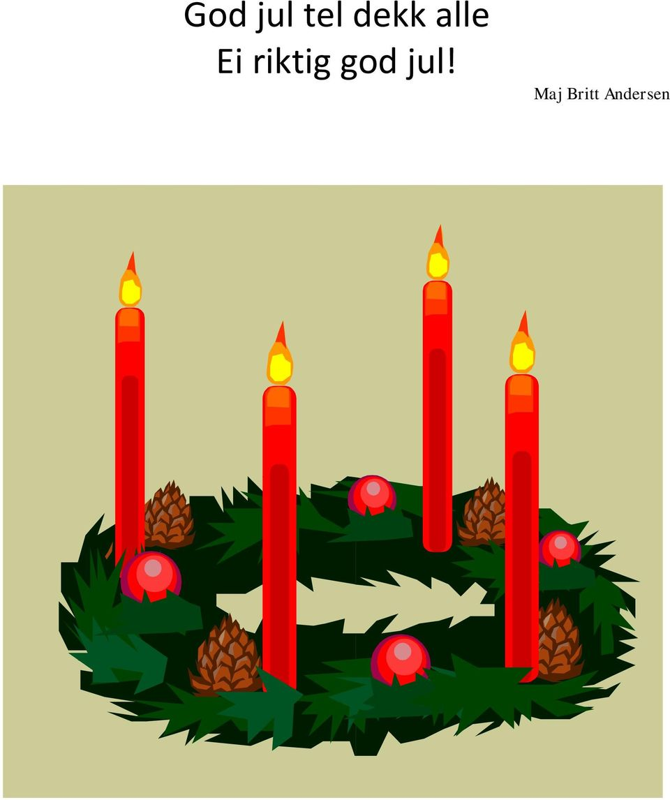 riktig god jul!