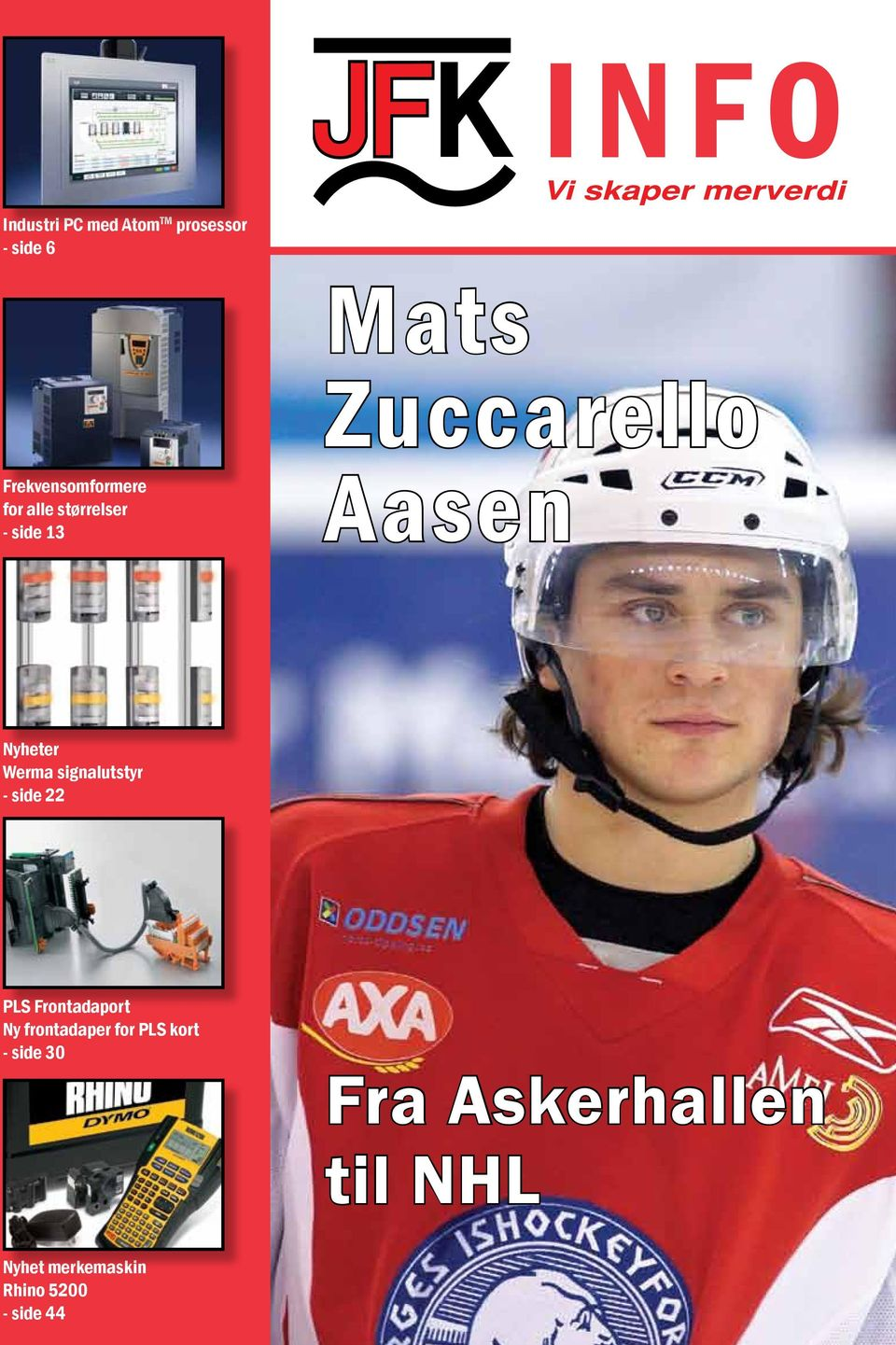 Nyheter Werma signalutstyr - side 22 PLS Frontadaport Ny frontadaper for